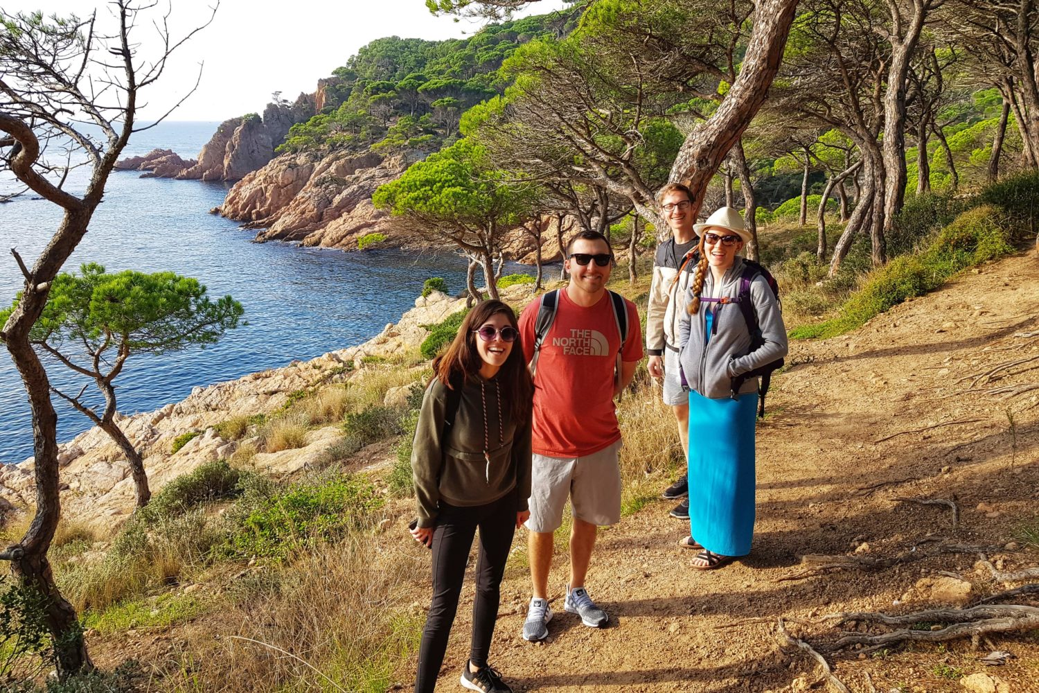 Amazing coastal views from Camino de Ronda. The best active holiday tours in the Costa Brava