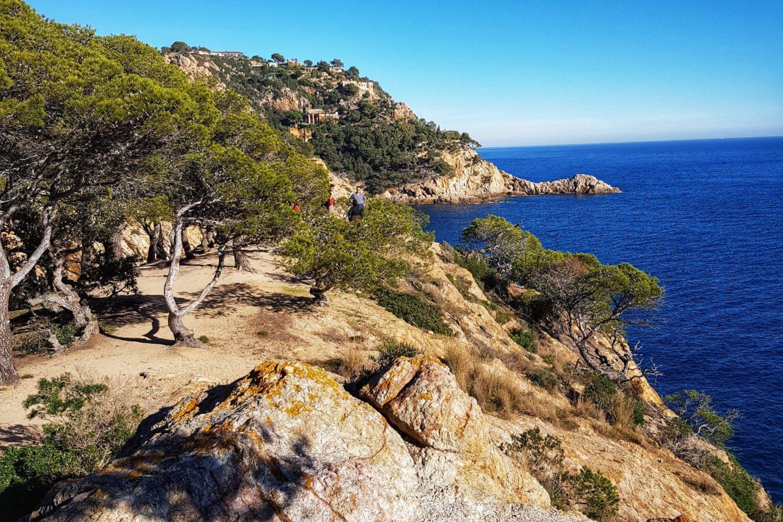 The path Camino de Ronda leads to numerous prestine bays.