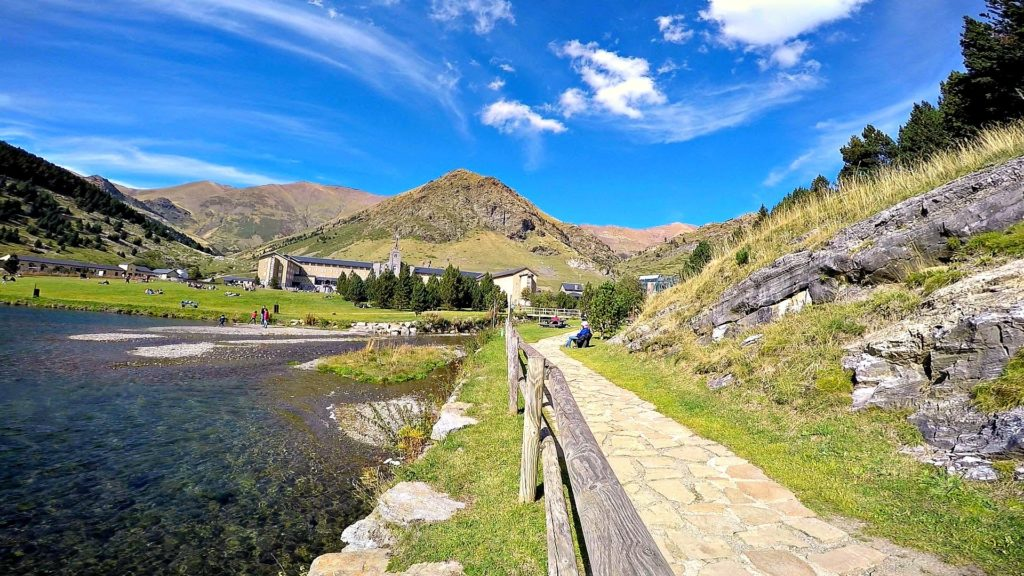 Unique small group walking tours in the Pyrenees to the Nuria Valley.
