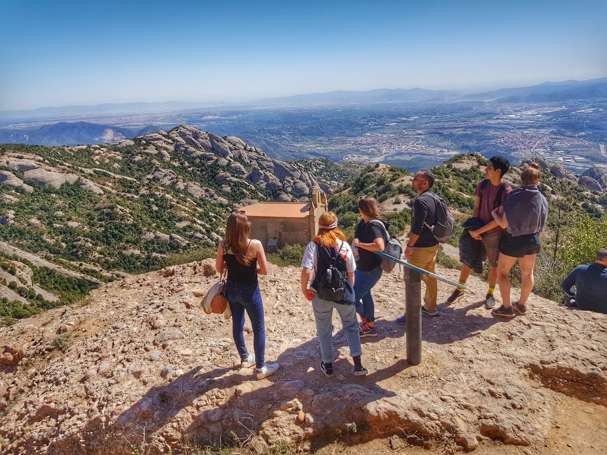 Get away from crowds and explore the Montserrat mountain on the small group hiking tour from Barcelona