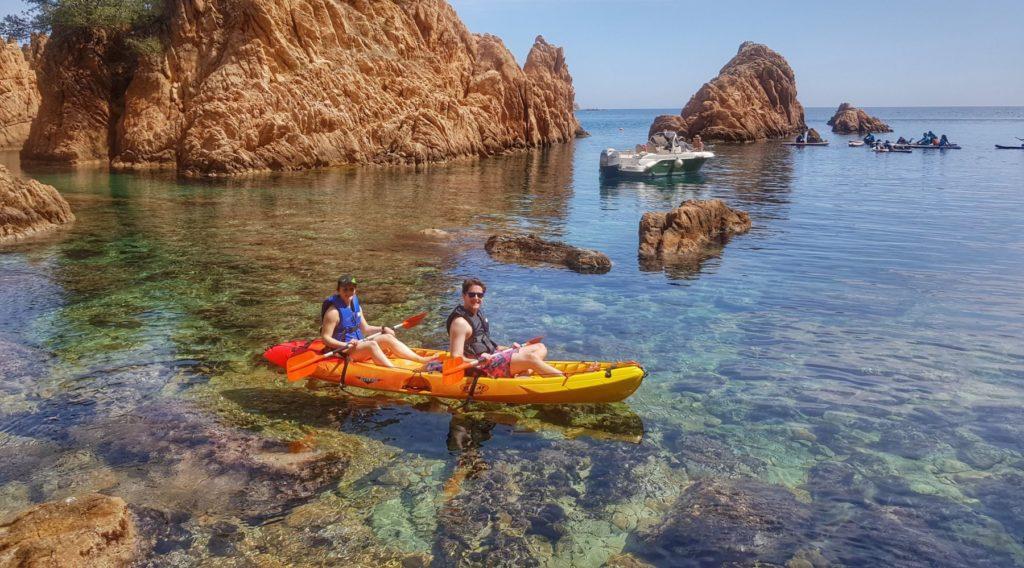 Explore the beautiful coves in the Costa Brava