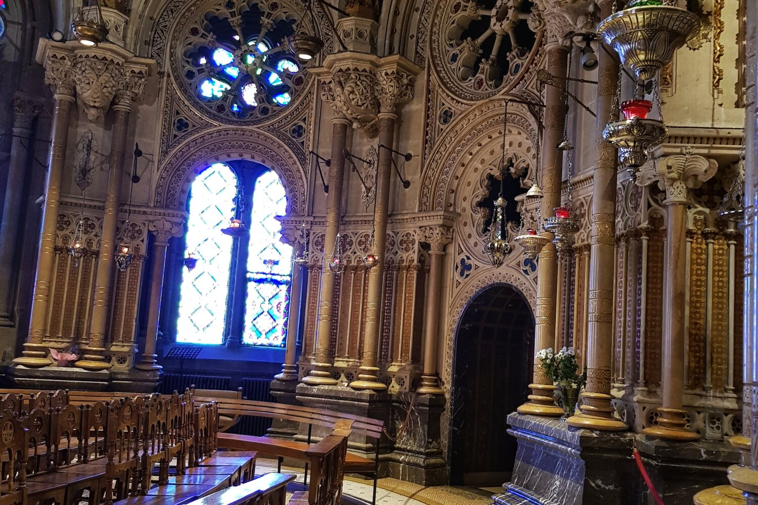 The Benedictine Basilica in Montserrat