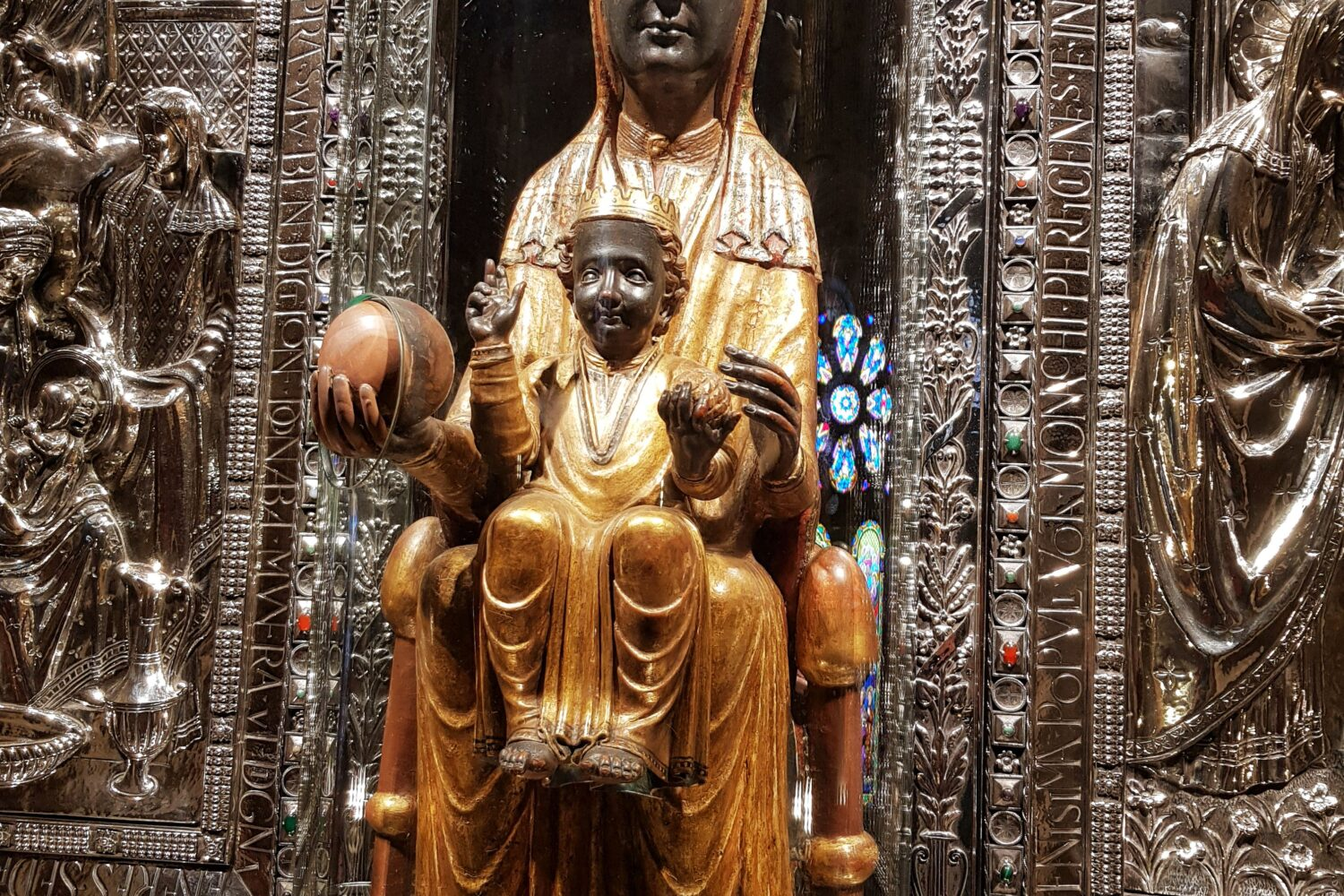 The Black Madonna of Montserrat
