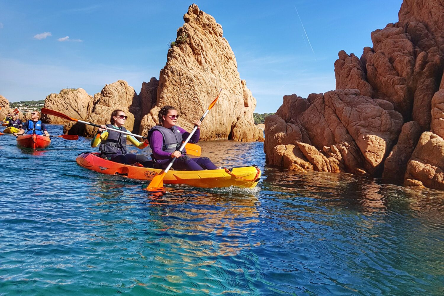 Small group kayaking experiences from Barcelona