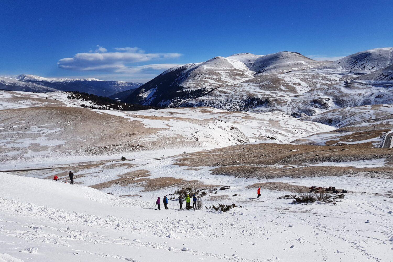 La Molina Ski resort and snowshoeing basics