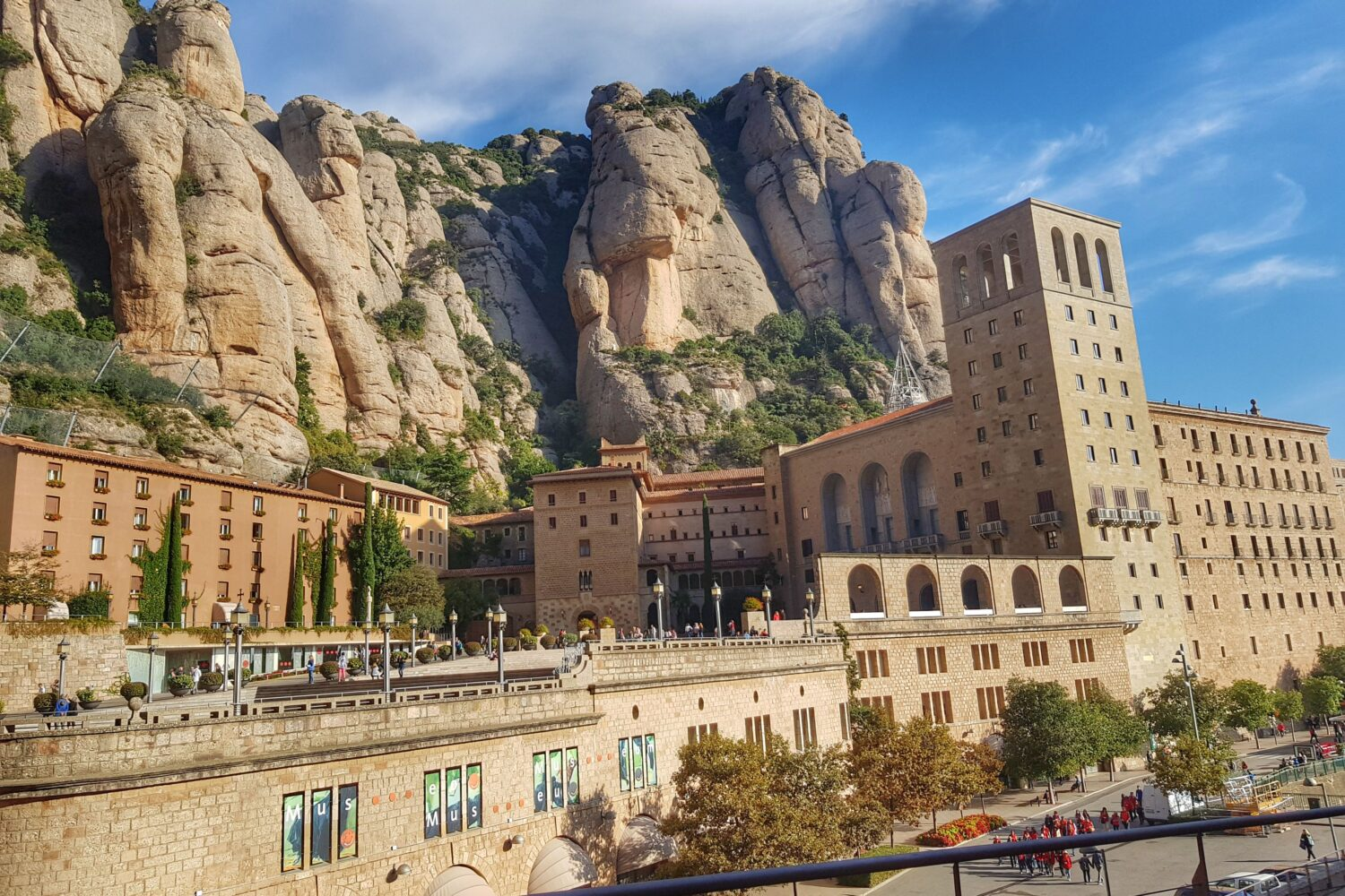 The Benedictine Monastery of Montserrat