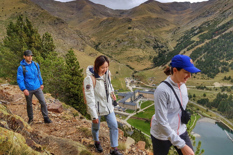 Hiking trails in Vall de Nuria