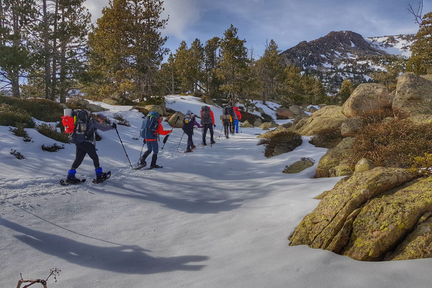 Snowhsoeing and hiking tours in the Catalan Pyrenees