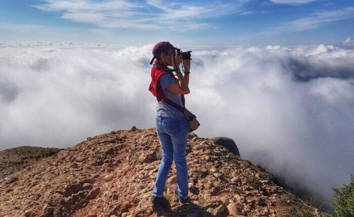 Santa Magdalena viewpoint in Montserrat