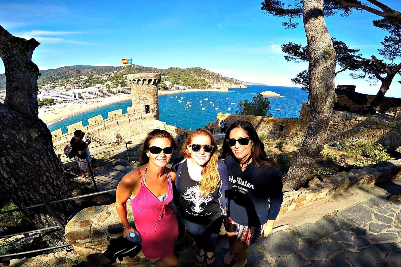 Fortress in Tossa de Mar