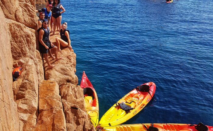 Kayaking and snorkeling in Costa Brava