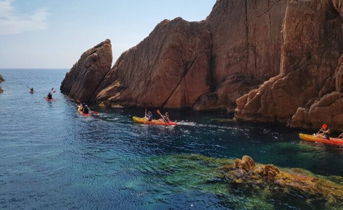 Special kayaking and snorkeling tour Costa Brava