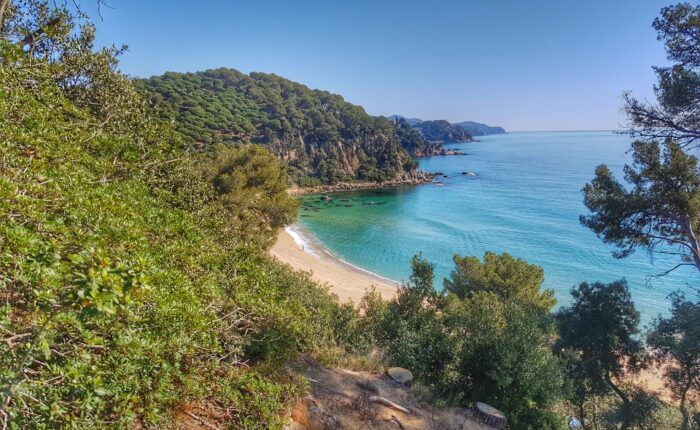 Santa Cristina beach in Costa Brava