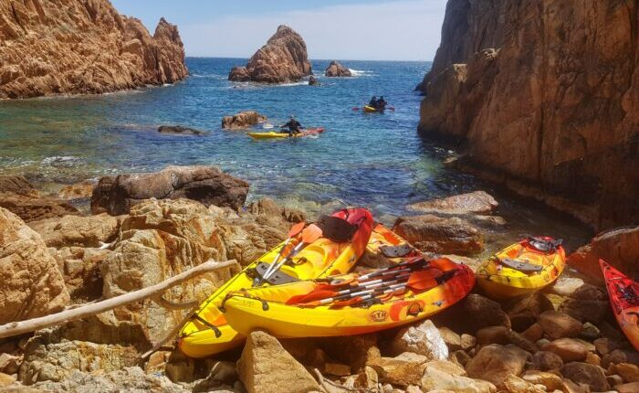 Secluded bays and coves in Costa Brava