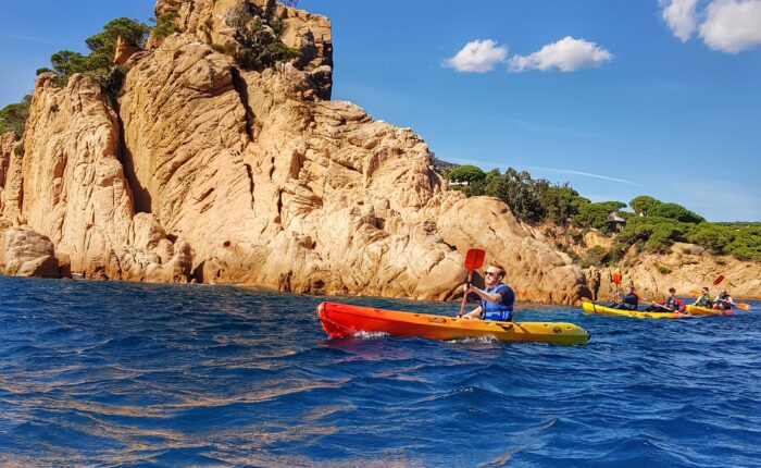 Small group kayaking tour Costa Brava